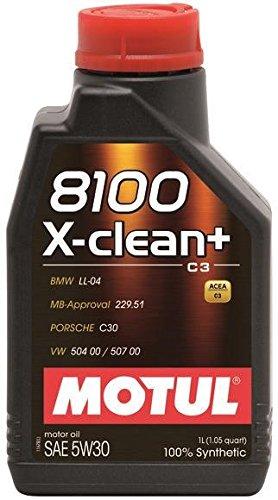 Motul 1L Synthetic Engine Oil 8100 5W30 X-Clean - Ll04- Mb 229.51-504.00-507.00(106376) (1) by Motul