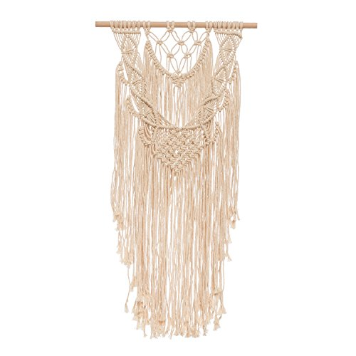 Lings Moment Macrame Wall Hanging Tapestry  Urban Outfitters Room Decor Fall Decoration  Boho Wedding Background Decoration  Bohemian Apartment Dorm Room Art Decor