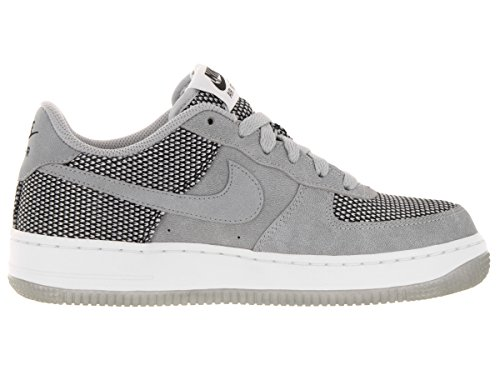 Nike Air Force 1 Premium (Gs), Zapatillas de Baloncesto para Niños Gris / Negro / Blanco (Wolf Grey / Wolf Grey-Black-Wht)