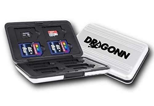 DRAGONN SD Memory Card Carrying Case