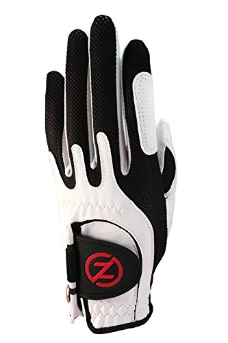 Zero Friction Junior Golf Gloves, Left Hand, One Size, White ()