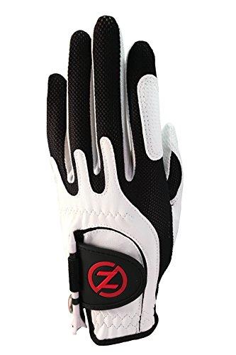 Zero Friction Junior Golf Gloves, Left Hand, One Size, White