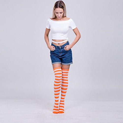 Pantimedias Altos la para calcetines I alto d largos en mujer Aimee7 Baja rodilla hasta Muslo Muslo YYrPqw5
