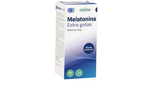 SAKAI MELATONINA EXTRA Gotas 60 ml Frasco: Amazon.es: Salud y cuidado personal
