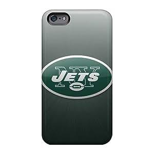 AshleySimms Apple Iphone 6 High Quality Hard Cell-phone Case Custom Attractive New York Jets Pattern [PBk24115AVtM]