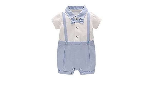 NOMSOCR Newborn Baby Girls Infant Summer Sleeveless One-Pieces Bowknot Romper Ruffle Jumpsuit Bodysuit Outfits Clothes