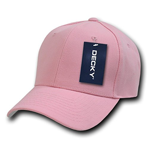 Decky Fitted - Gorra para Hombre rosa