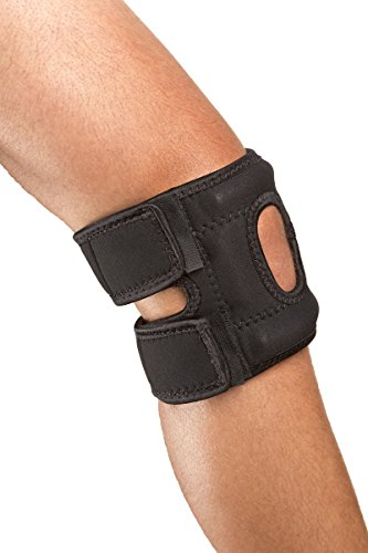 Cho-Pat Patellar (Kneecap) Stabilizer - (Right) Knee - Pain Relief for Patellar Tendonitis and Arthritic Knees (Large, 16
