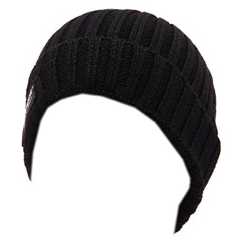 Hat Wool Black Slim Kid 0113w Nero Cuffia Boy Beanie Bimbo Woolrich Lana xYng7Xx8