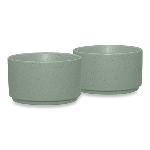 (2 Set Noritake® 9 oz. Capacity Colorwave Ramekins in Green Durable Stoneware)