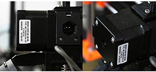 Moteur 17 Pas /à Pas 42-34 Moteur 1.8 Angle Pas /à Pas 1.5A Corps Biphas/é 4 Fils pour Extrudeuse DImprimante 3D Moligh doll Moteurs DImprimante 3D