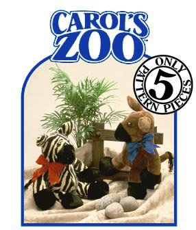 Patterns-Carol's Zoo - Zebra or - Zoo Carols