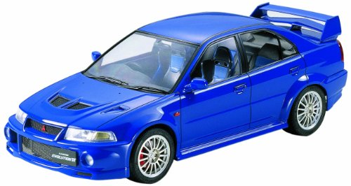 Tamiya Mitsubishi Lancer Evolution VI 1/24 Scale Model Kit 24213 Mitsubishi Model Kit