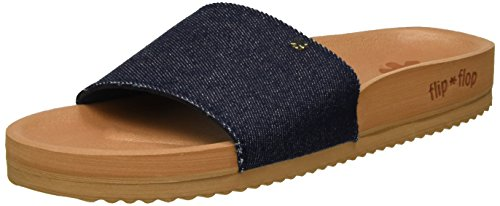 flip*flop Pool*denim - Sandalias Mujer Mehrfarbig (brown sugar)