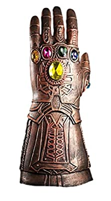 New Horizons Production Marvel's Infinity War Thanos Infinity Gauntlet Cosplay Adult Sized Deluxe Latex Gloves