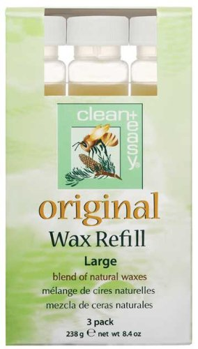 Clean & Easy Wax Refill 3-pack Small Original