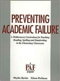 preventing academic failure