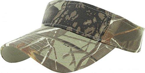 Tree Camo_(US Seller)Outdoor Sport Hat Sun Cap Adjustable Velcro