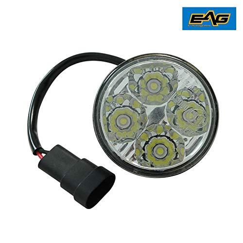 EAG 4W Circle LED Light - EAG JK LED Bumper Components