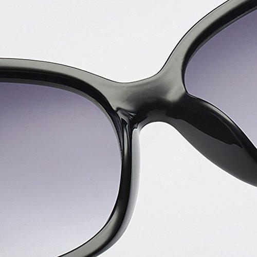 Gafas Clásica Lens LX de Color Gafas Black Red Conducción Lens Deportes de LSX Sol Frame al Señoras Moda Purple Gradient Nueva Las Frame Gradually Gray de Aire Libre zBBq5xnvwr