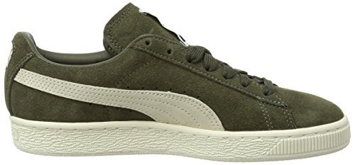 Olive Unisex Suede birch Classic Zapatillas Night Verde Puma Adulto tBYZw
