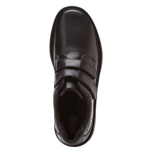 Disegnato Scarpe Da Uomo Mansfield Boots Black Vitello