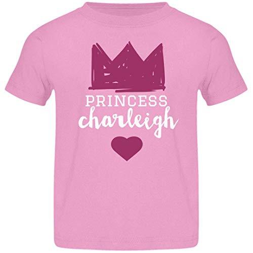 FUNNYSHIRTS.ORG Girls Princess Charleigh Tee: Jersey Toddler