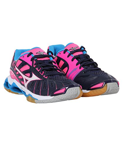 Wave X Volleyball Mizuno Shoes Tornado WOS Women's pink 5ScxwF