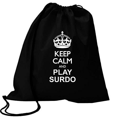 Idakoos Keep calm and play Surdo Sport Bag 18