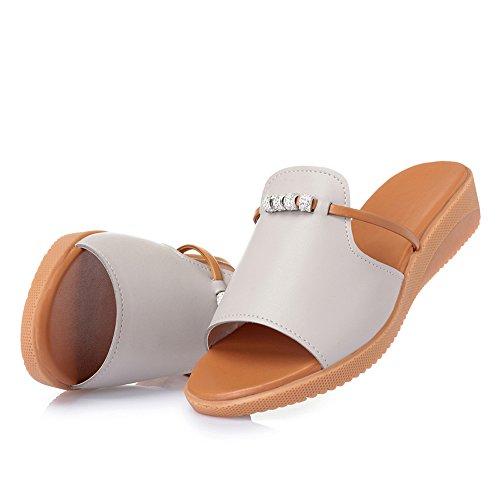 Femme Femme Couleur Enceinte Mère Taille Grande Unie Plates Bas Semelle Gris Pantoufles Chaussures antidérapante Talon Souple Chaussures de extérieure SqwOpWnd