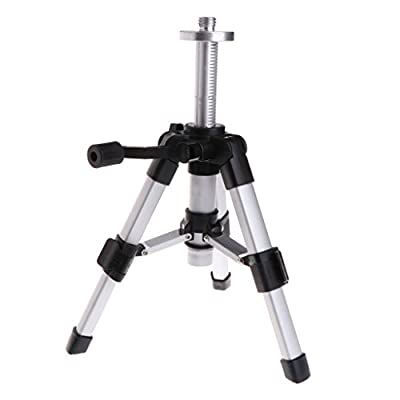 Sarora - Portable Tripod 5/8inch Laser Level Mini Tripods Aluminium Adjustable 16-28cm