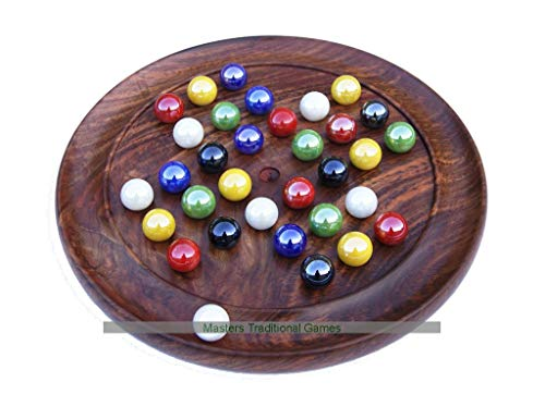 - New Deluxe Solitaire Coffee Table Game Vintage Toy for Puzzlers and Collectors