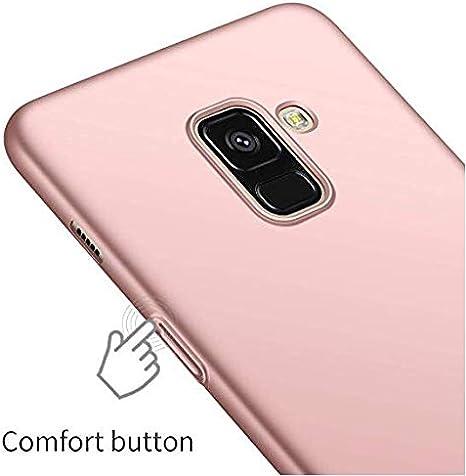 Urhause Samsung Galaxy A8 2018 Samsung Galaxy A8 2018 Hart PC H/ülle, Anti-Kratzer Ultra d/ünn Silky Handyh/ülle Sto/ßfest Anti-Fingerabdruck Schutzh/ülle R/ückschale Hardcase Protective Back Case,Gold