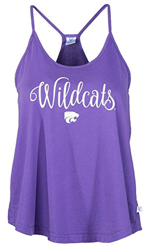 - Venley NCAA Kansas State Wildcats Rik HI-LO Lampshade Tank T-Shirt, Large, Purple