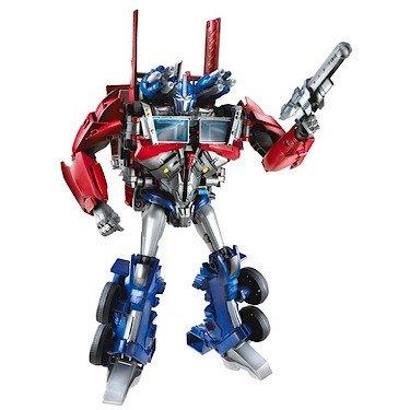 Transformers Prime Weaponizer Optimus Prime Figure 8.5 Inches]()