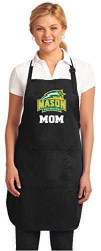 Broad Bay George Mason Mom Aprons NCAA GMU Mom Apron w/Pockets by Broad Bay
