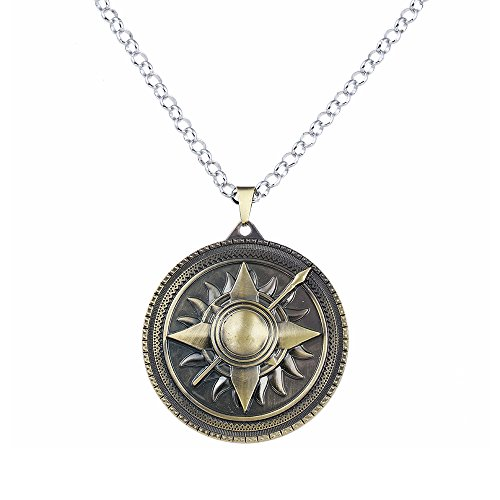 lureme Game of Thrones Inspired House Nymeros Martell Necklace-Antique Bronze (nl005379-2) (Game Of Thrones Sezonul 2 Episodul 7)