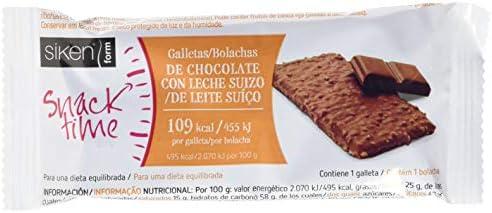 Siken Form Snack Galleta Sabor Chocolate - 32 Paquetes de 25 gr - Total: 800 gr: Amazon.es: Salud y cuidado personal