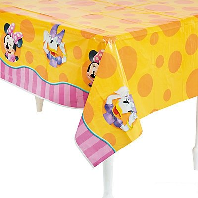 Minnie's Bow-Tique Dream Party Table Cover (Daisy Duck Birthday Supplies)