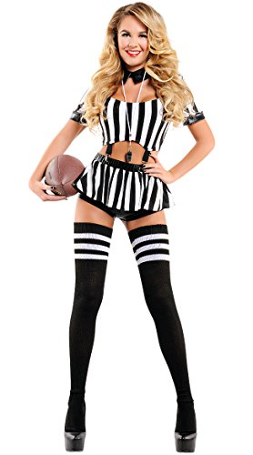 Yandy Starline Women Exclusive Halloween Athletic Sexy Halloween Rowdy Referee Costume -
