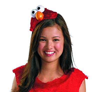 Disguise Women's Sesame Street Elmo Adult Costume Headband Red One Size Disguise Costumes 16744