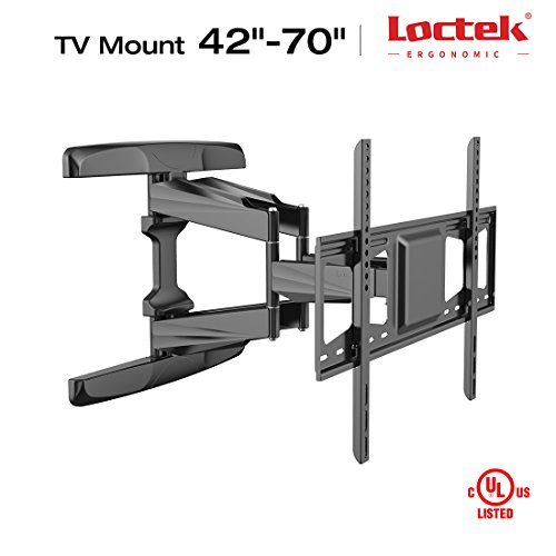"Loctek TV Wall Mount Bracket 42-70"" Full Motion Interactive"