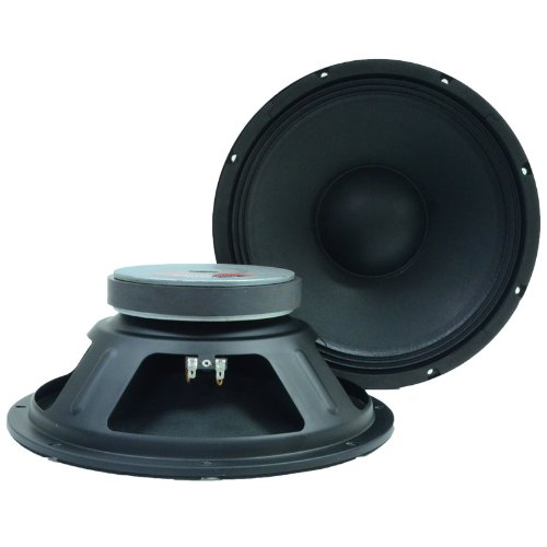Seismic Audio Q 12 Pair 2 of 12-Inch PA/DJ Replacement Pro Audio Raw Woofers/Speakers by Seismic Audio