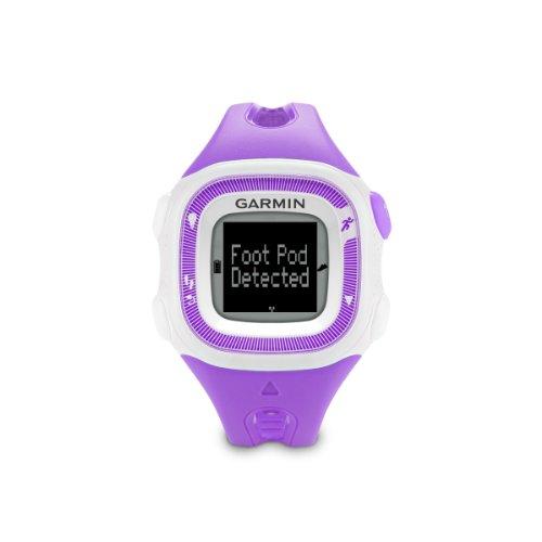 Garmin 010-01241-62 Forerunner 15 GPS Watch (Small) Violet/White