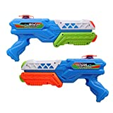 Water Pistols, Water Gun, Super Soakers, Water Blaster, Water Guns for Kids and Adults (2PCS)