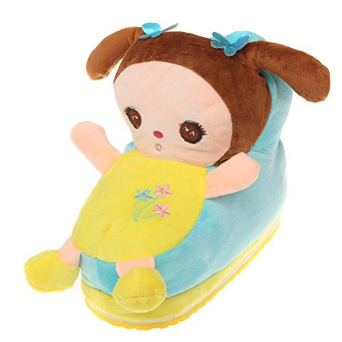 Shoes Girls Cartoon for Plush Cozy Firstsight Winter House Novelty Women Slippers PvqZw