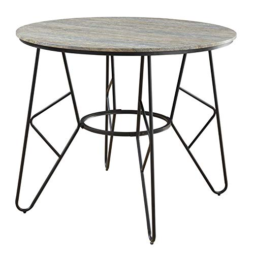 - Emerald Home Furnishings Emmett Gathering Height Dining Table