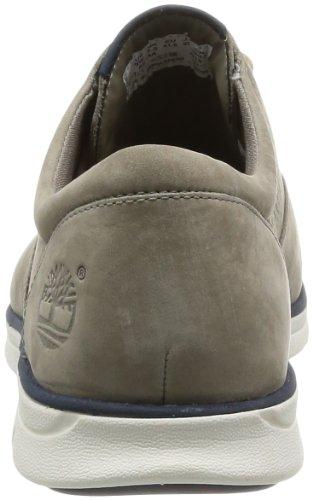 Timberland , Chaussures de ville à lacets pour homme gris taupe