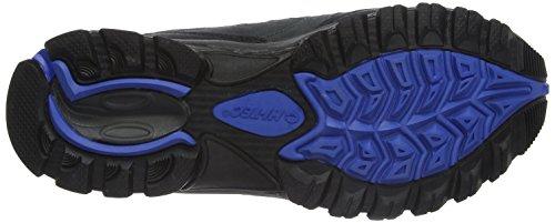 Hi-Tec Fusion Sport Low Agua Proof Trail Zapatilla De Trekking Azul (Charcoal/Blue/Silver)