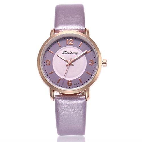 Sport Digital 5 Jelly (Fashion Cream Color Ultra-thin Fashion Gift Silicone Strap Leisure Watch Geneva Sport Wristwatch Women Jelly Watches (Purple))